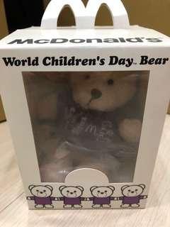🚚 香港麥當勞公益小熊(容祖兒)