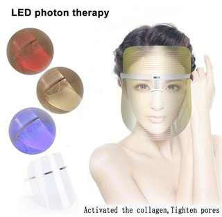 IPL LED Light Photon Face Mask Skin Rejuvenation Wrinkle Removal Facial Spa Anti Wrinkle Removal Spot Face Spa Skin Whitening Salon