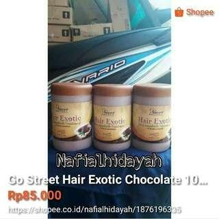 Go Street Hair Exotic Chocolate 1000gr