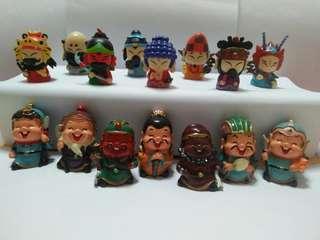 Mini cartoon buddha figurines(15 for $15)