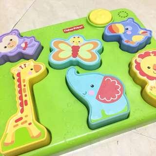 Fisherprice animals puzzle