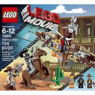 LEGO® Lego Movie 70800 Getaway Glider (Retired/MISB)