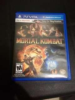 Mortal kombat ps vita game