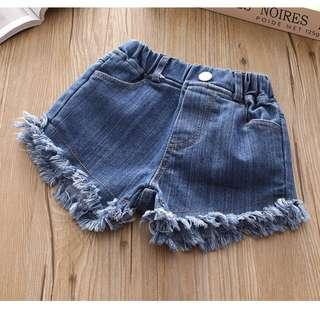 🚚 Baby Girl's Denim Shorts