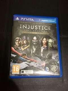 Injustice Ps vita gamee