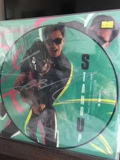 張國榮 stand up 黑膠 圖案碟 LP Picture Disc
