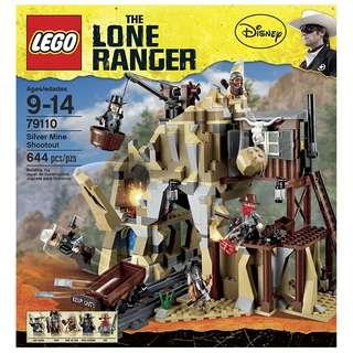 LEGO® The Lone Ranger™ ​79110 Silver Mine Shootout (Retired/MISB)