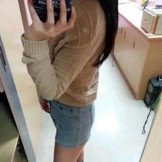 🚚 GU螺紋薄針織上衣
