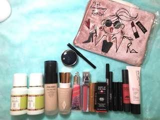 Shiseido Make Up Forever Charlotte Tilbury Shu Uemura 粉底液 唇膏 眼線($500/16件)