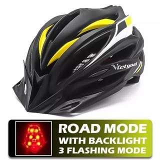 Bicycle Helmet with Warming light