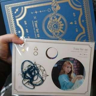 (換yerin only) Gfriend Time for us Limited Edition Sowon paper mobil