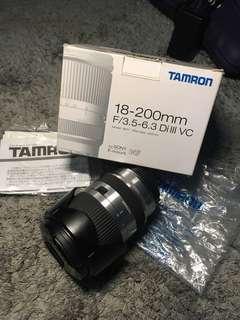 Tamron 18-200mm Di III VC Sony Mount