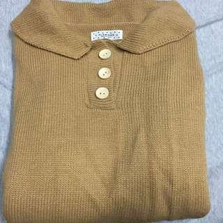 🚚 轉賣 hellocik polo式針織毛衣