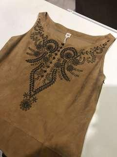 Hermes Vintage Dress (leather)