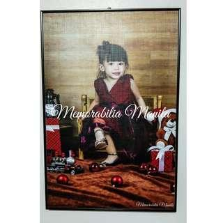 12x18 Wood Mount Picture frame (with 12x18 picture print)