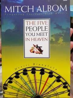 THE FIVE PEOPLE YOU MEET IN HEAVEN Meniti Bianglala karya Mitch Albom