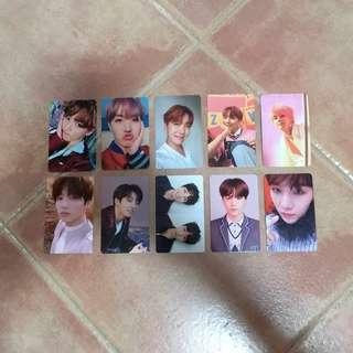 🚚 wts bts photocards