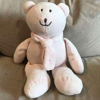 🚚 Authentic baby pink polo Ralph Lauren plush bear soft toy