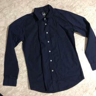 🚚 Shirtoria Navy Shirt Mens
