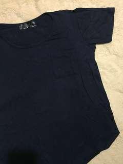 🚚 Dark Blue Tshirt