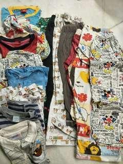 [BUNDLE] Boy Clothing + Pyjamas