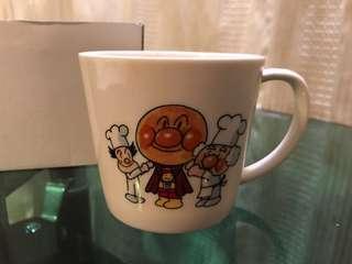 日本限量版麵包超人紀念杯