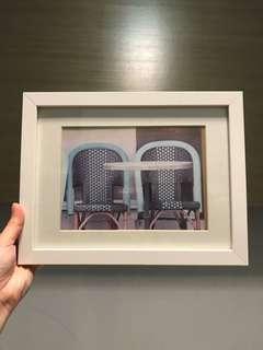 IKEA white photo frame