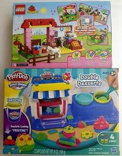 Lego & Playdoh for girls