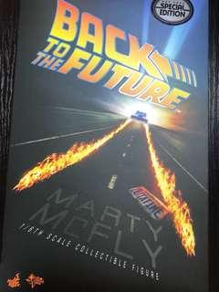Hottoys Back to the future Marty Mcfly