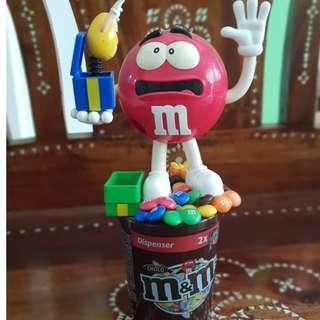 Tempat coklat M&MS