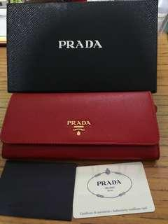 Brand New Authentic Prada Wallet