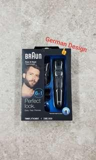 Braun Men's Trimmer MGK3020 Trimmer for Hair/Head Trimming, Grooming Kit with 4 Combs, Ultimate Precision with 13 Length Settings