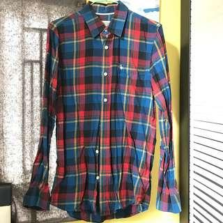Jack wills multi color check shirt x /xs