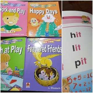 🚚 Phonics English preschool books