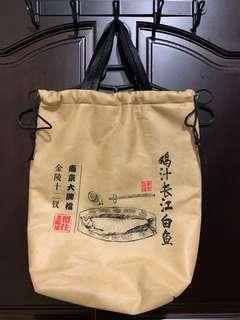 🚚 「二手」中國風環保保溫袋
