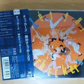 只使用數次 2004年 日本版 CD The Checkers 絶対チェッカーズ!!