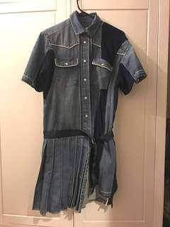 Not sacai denim dress 牛仔連身裙