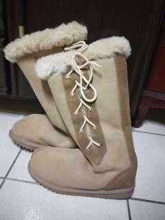 🚚 日本買的雪靴(只穿一次)