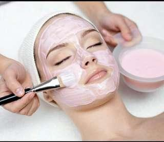 Facial service as your request