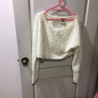 🚚 正韓全新短版洋毛上衣#ㄧ百均價