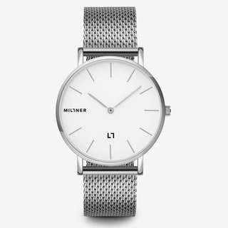 Millner watches 女裝不銹鋼手錶