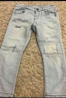 Zara baby girls jeans