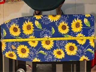 Blue Sunflower mini iron board