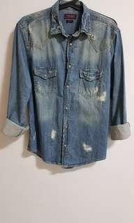 Zara Man Denim shirt