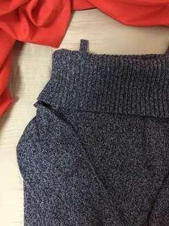 🚚 一字領毛衣 #一百均價