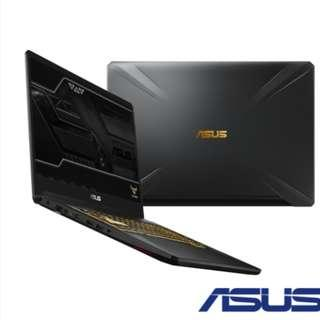 ASUS FX705GM 17吋筆電 (i7-8750H/GTX1060/1T+256G  金色