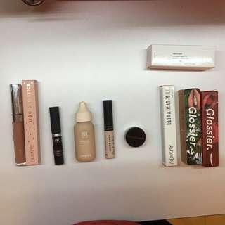 BNIB and USED makeup for sale