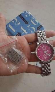 Jam fossil boyfriend pink
