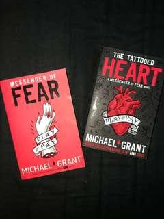 Messenger of Fear Duology by Michael Grant