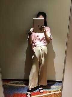 Long fashion nude pants